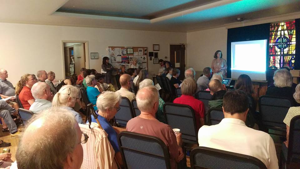 Four Mile Run Community Meeting in 2017